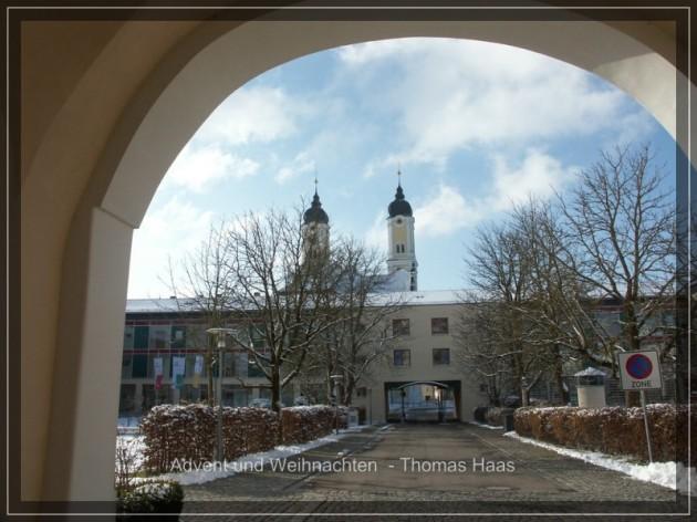 Winter in Roggenburg, Prämonstratenserkloster, Bildungszentrum