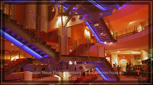 Foyer - Treppenhaus in der Neuen Flora