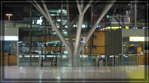 Innenansicht Terminal 2, Stuttgart