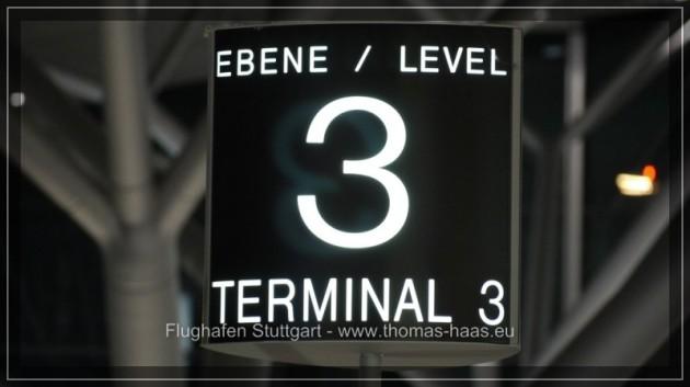 Typografie Airport Stuttgart