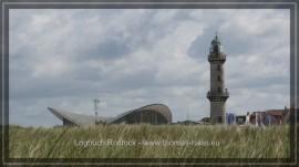 Warnemünde - Teepott und Leuchtturm