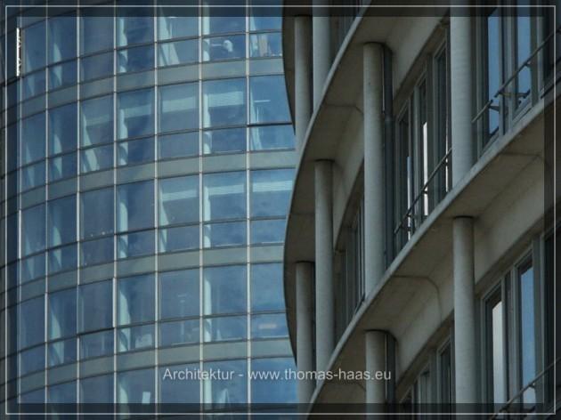 Fassaden in Hamburg an der Kehrwieerspitze