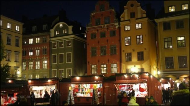 Weihnachtsmarkt auf dem Stortorget