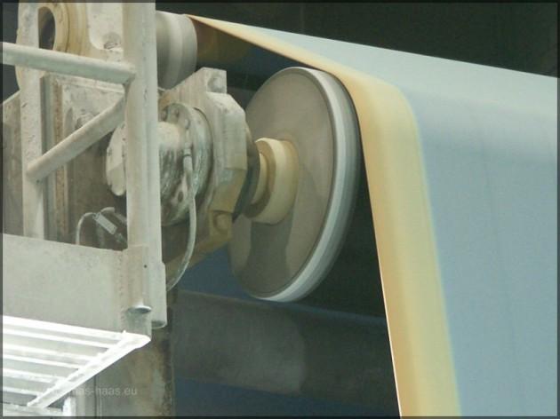 Trockensieb der Papiermaschine