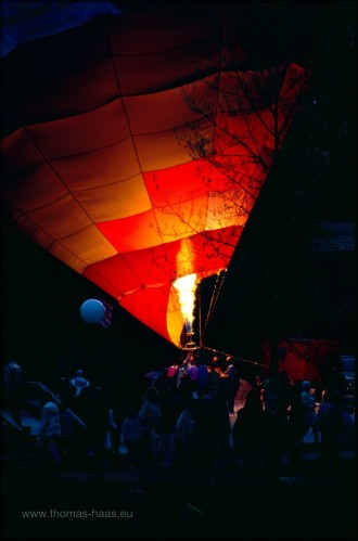Ballonglühen in Neu-Ulm