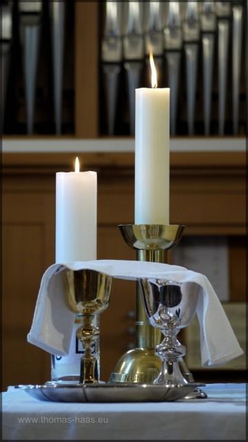 Der Tisch des Herrn - Abendmahlsgeschirr