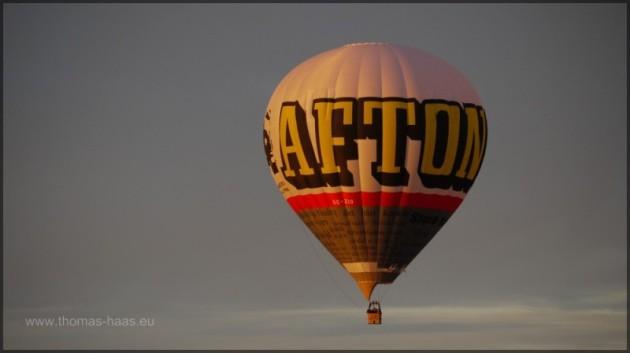 Heißluftballon - Nur warme Luft und Wind...