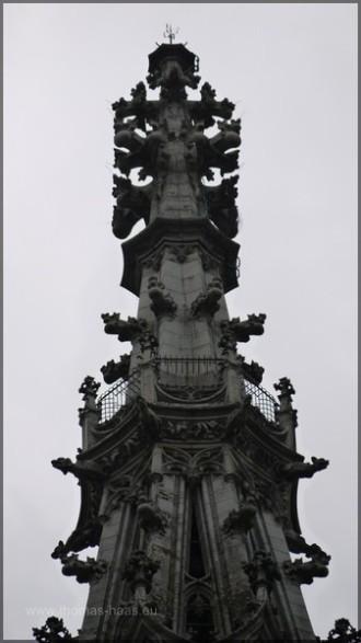 Spitze des Westturms