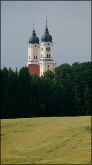 Türme der Klosterkirche Roggenburg