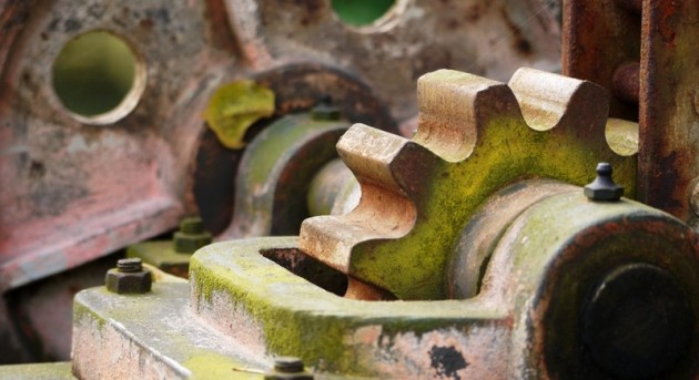 Zahnrad am Fallenstock, Wassertechnik, Muehle
