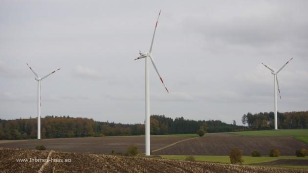 Gruene Energie, Windraeder