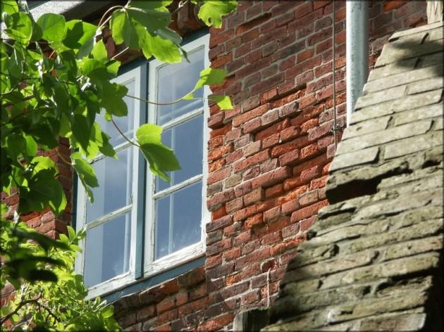 Fassadendetail der Nordermühle