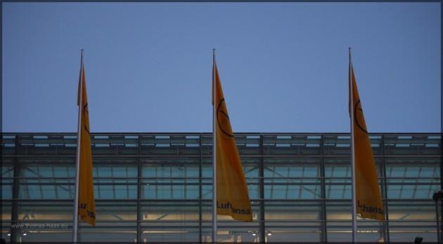 Architektur am Flughafen Franz Josef Strauss, Dezember 2012