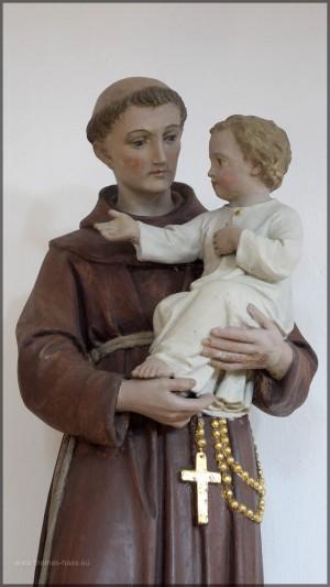 Statue, hl. Antonius mit Kind