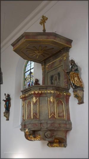 Kanzel, St. Peter und Paul, Bellenberg