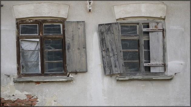 Zerstoerte Fenster