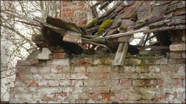 Eingebrochene Dachbalken, 2013
