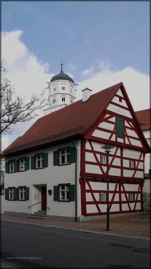 Fachwerkgebäude in der Innenstdt: Benefiziatenhaus