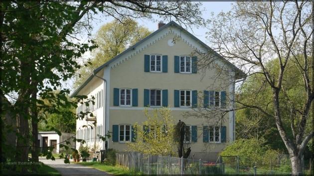Fassade Vogt-Muehle Bellenberg, Mai 2012