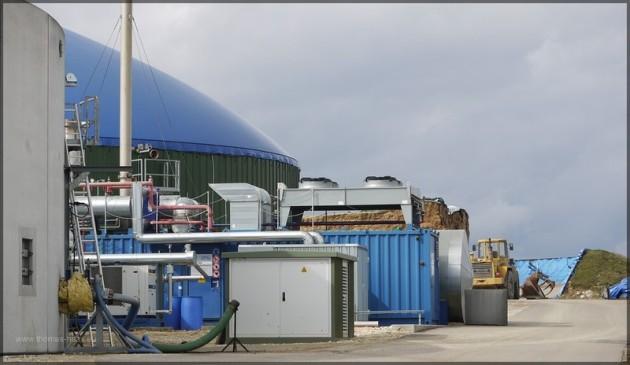 Blockheizkraftwerk, Biomasse, Fruehjahr 2013