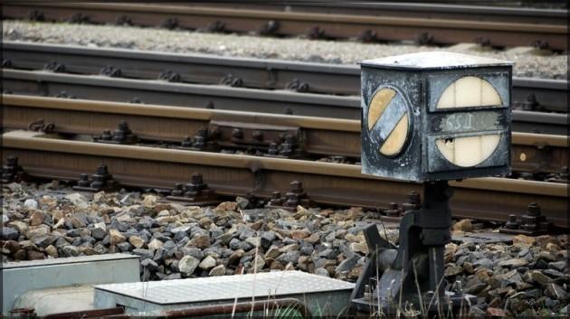 Weichenlaterne, Gleis 2, Bahnhof Illertissen