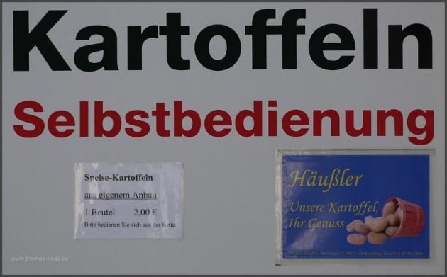 Mobile Selbstvermarktung, Kartoffelkiste, Saison 2013
