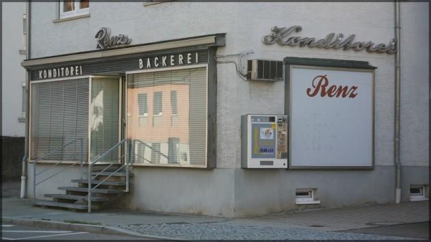 Geschlossene Konditorei/Bäckerei - August 2013