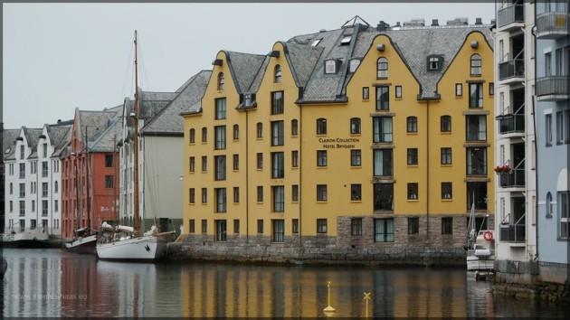 Ålesund, Hafenbereich