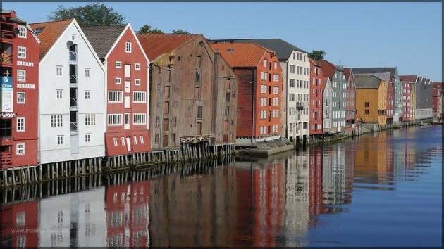 Trondheim, Altstadt