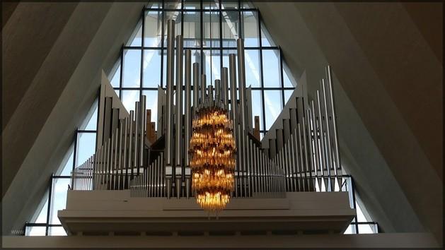 Orgel der Eismeerkathedrale