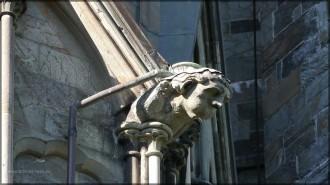 Nidaros-Dom, Detail der Fassade
