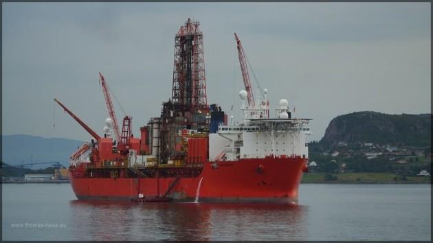 Erdgasförderung bei Kristiansund