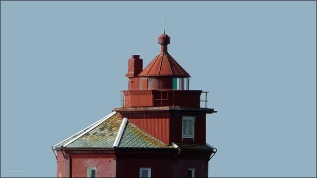 Aufsatz auf dem Leuchtturm Kjeungskær