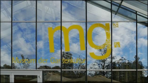 Glasgebäude Museum der Gartenkultur
