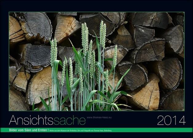 Gestaltete Titelseite Kalender 2014