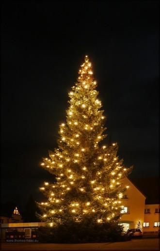 Weihnachtsbeleuchtung, Vöhringen, 2013