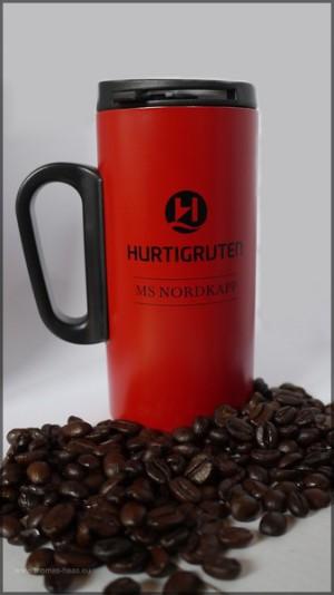 Kaffee-Abo-Becher, MS NORDKAPP, 2013