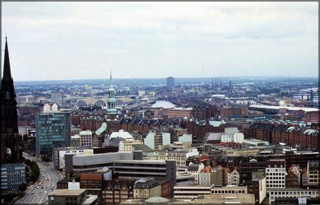 Hamburg, ein gescanntes Motiv aus dem Jahr 1981