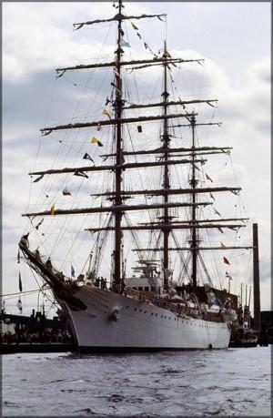 Segelschiff Libertad aus Argentinien, 1981