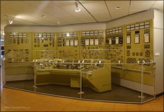 """Schifffahrtsmuseum Bremerhaven, Reaktorsteuerstand """"OTTO HAHN"""""""