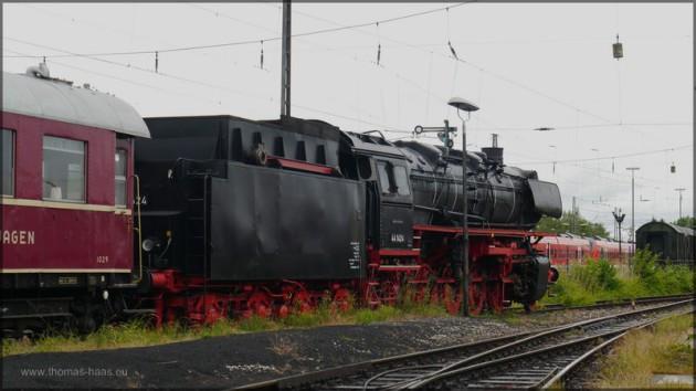 Personenzug im Juni 2014