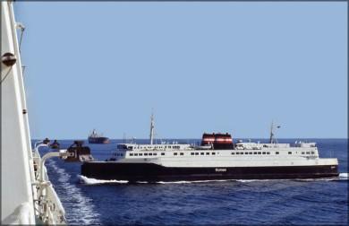 Schiffsverkehr auf dem Weg nach Oslo