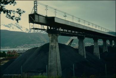 Schwedische Kohle in Narvik