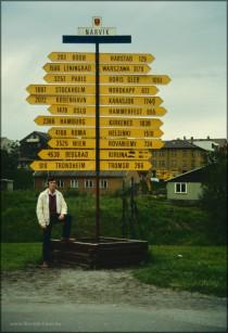 Entfernungen in Narvik