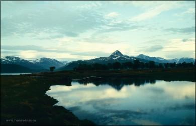 Landschaft weit im Norden...