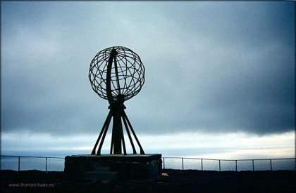Angekommen... - das Nordkap 1983