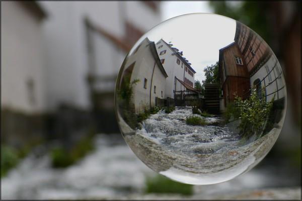 Klostermühle Söflingen, Kugelbild August 2014