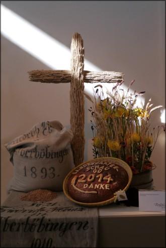 Brot- und Getreidemotiv zum Erntedank 2014