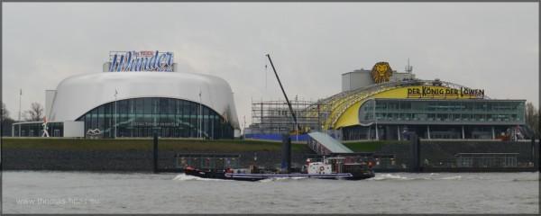 Das Stage-Theater an der Elbe, Neubau im Jahr 2014