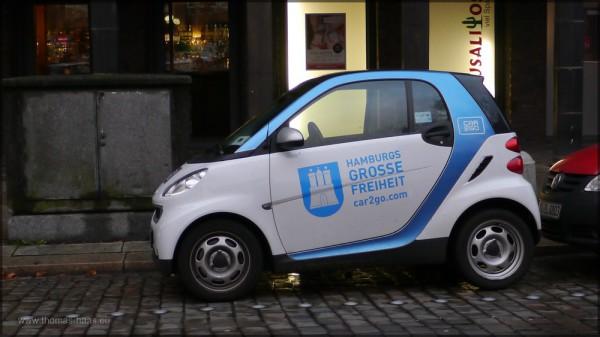 car2go in Hamburg, Dezember 2014